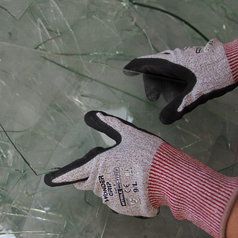 Aramid Fiber Kesim Korumalı Dayanıklı Eldivenler Anti Kesilmiş - Güvenlik ve Koruma - Fotoğraf 6