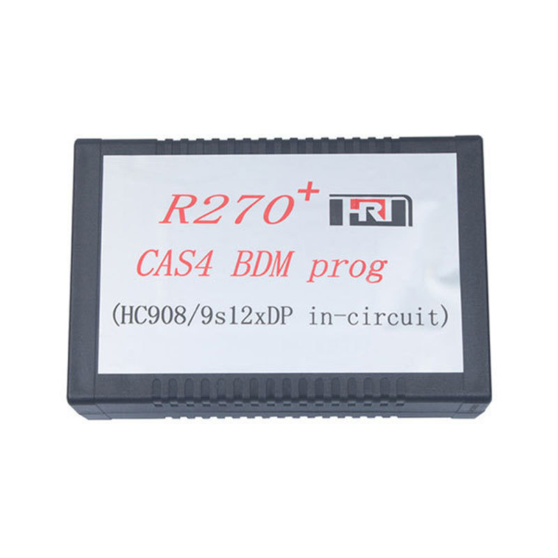 Best Quality R270+ BDM Key Programmer  R 270+ CAS4 odometer chips read and write R270V1.2 Diagnostic Tool Free Shipping bask vinson pro v2