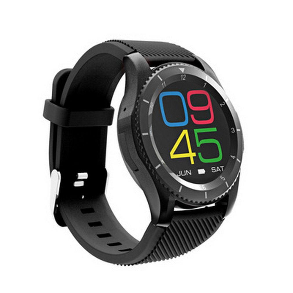 Nouveau G8 Écran Rond Coeur Taux Sang Pression Montre Smart Watch Pour IOS Android Sport Hommes de Montres Horloge Woemn Horloge dropshipping