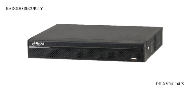 Dahua DH-XVR4116HS 16 Channel 720P Compact 1U Digital Video Recorder,Support HDCVI/ AHD/TVI/CVBS/IP video inputs