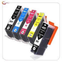 PGI-480 CLI-481 PGI 480 CLI 481 XXL cartuccia di inchiostro compatibile per CANON PIXMA TR7540 TR8540 TS6140 TS8140 TS9140 a getto d'inchiostro della stampante