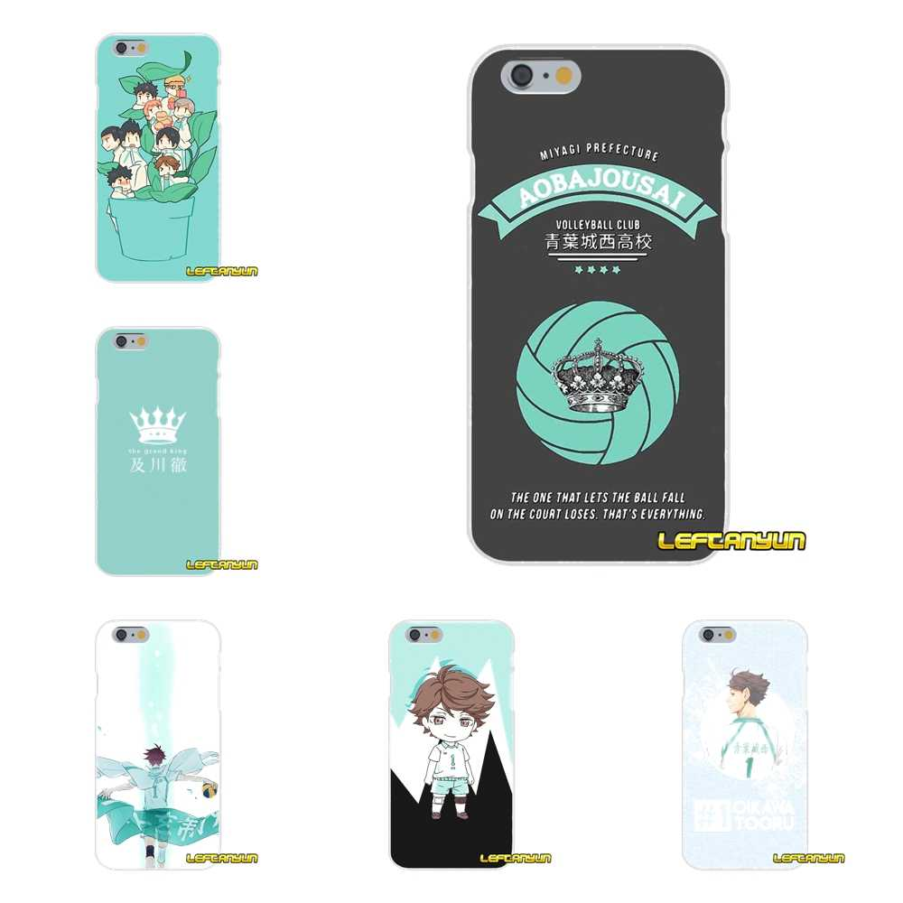Cartoon Haikyuu Tooru Oikawa Morbido Silicone Cassa del telefono Per il iphone X 4 4 S 5 5 S 5C SE 6 6 S 7 8 Plus