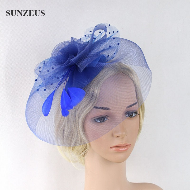 Aliexpress Com Buy Elegant Lady Blue Party Veil Mother