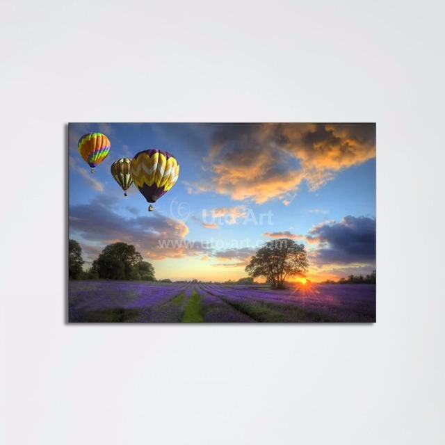 New guarantee 3d wall art painting panel landscape canvas prints digital picture prints on canvas for