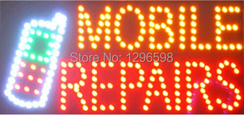 CHENXI Special Offer  Graphics 15mm indoor 19X19 Inch MOBILE REPAIRE Business Shop LED Ultra Bright sign