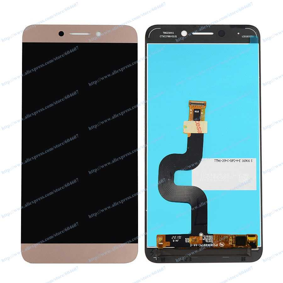 все цены на  New Gold OEM Touch Screen Digitizer+LCD Display Assembly For LeTV LeEco Le 2 X620 Phone  онлайн
