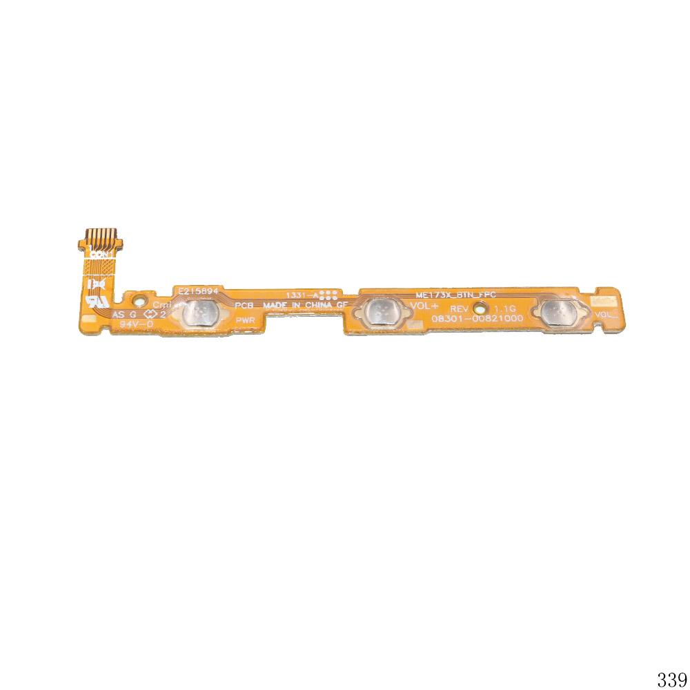 Power Button Switch Volume Button Mute On / Off Flex Cable For ASUS MEMO Pad HD 7
