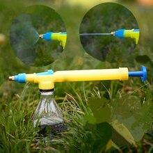 Практичный низкого давления воды туман сопла руководство давления латунь туман воды Насадка для пистолет бутылка-распылитель Лейка садовая инструмент
