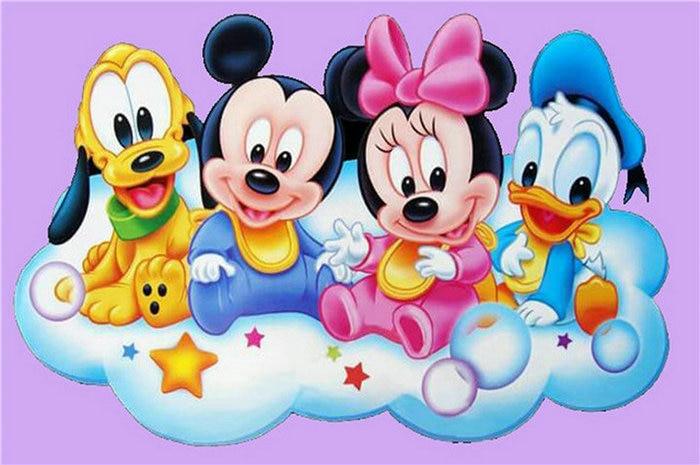 Diy-diamond-painting-cross-stitch-Donald-duck-full-5D-diamond-embroidery-cartoon-Mickey-mouse-diamond-mosaic