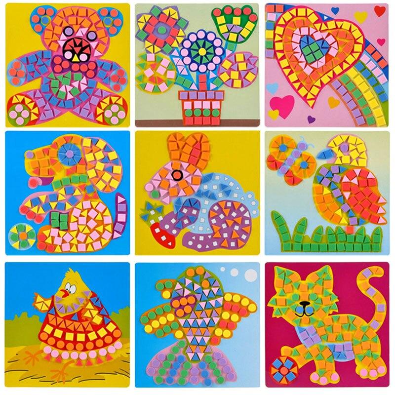 Sticker Crafts For Kids