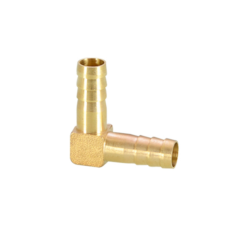 Brass Hose Pipe Fitting Coupling Elbow Equal Reducing Barb 4mm-16mm ID Hose Copper Barbed Coupler Connector Adapter