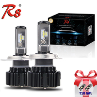 Hot Sales Automotive T6 Turbo LED Headlight Conversion Kit H1 880 881 H27 9005 9006 Retrofitting Bulbs CSP Chips Lamp 30W 4000LM