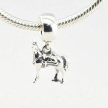 Disny Maximus Horse Granos Del Encanto para Las Mujeres de La Joyería Que Hace Encantos Aptos Pandora Original Pulsera 2016 Nuevo 925 de Plata DIY