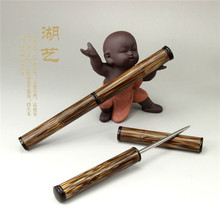 Exquisite gold bamboo Pu'er Tea stainless steel knife, needle tea  wholesale accessories bamboo Merlot