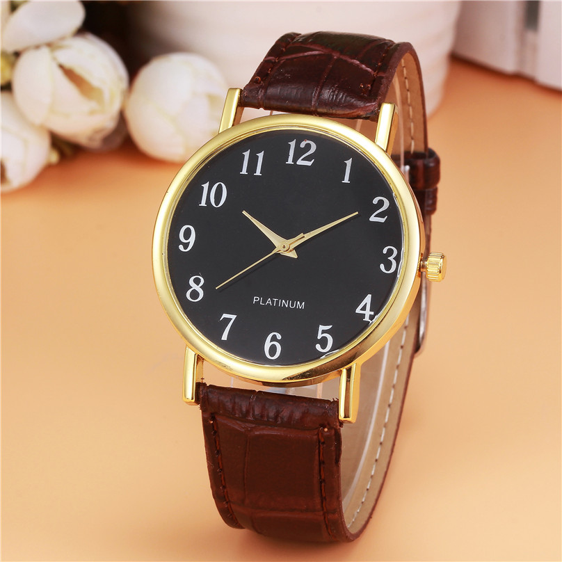 Women Watch Fashion Noble Beautiful Retro Design Leather Band Analog Alloy Quartz Wrist Watch free shipping dropshipping hot 3* novel design 2015 hot sell men women quartz wrist watch fashion woman cowboy fabric band wrist watch