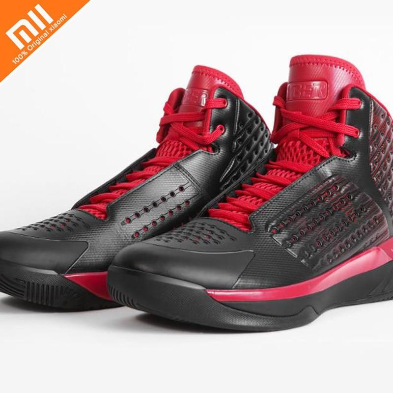 купить High quality xiaomi mijia HYBER classic basketball shoes lightweight breathable non-slip cushion shoes professional по цене 5274.38 рублей