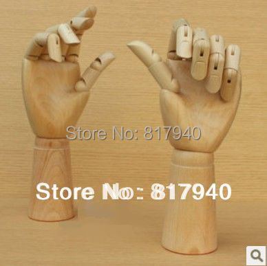 1 Paar männliche Schaufensterpuppe rechts links Hand Schmuck Armband