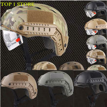 Full 15 Color Emerson Fast Helmet with Protective Goggle Pararescue Jump Type Tactical Military Helmet(China)