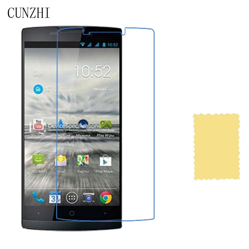 cunzhi 5pcs High Clear LCD Ultra Slim Screen Protector Film For Highscreen Prime L / Boost / Boost 2 II / Boost 3 / Hercules image