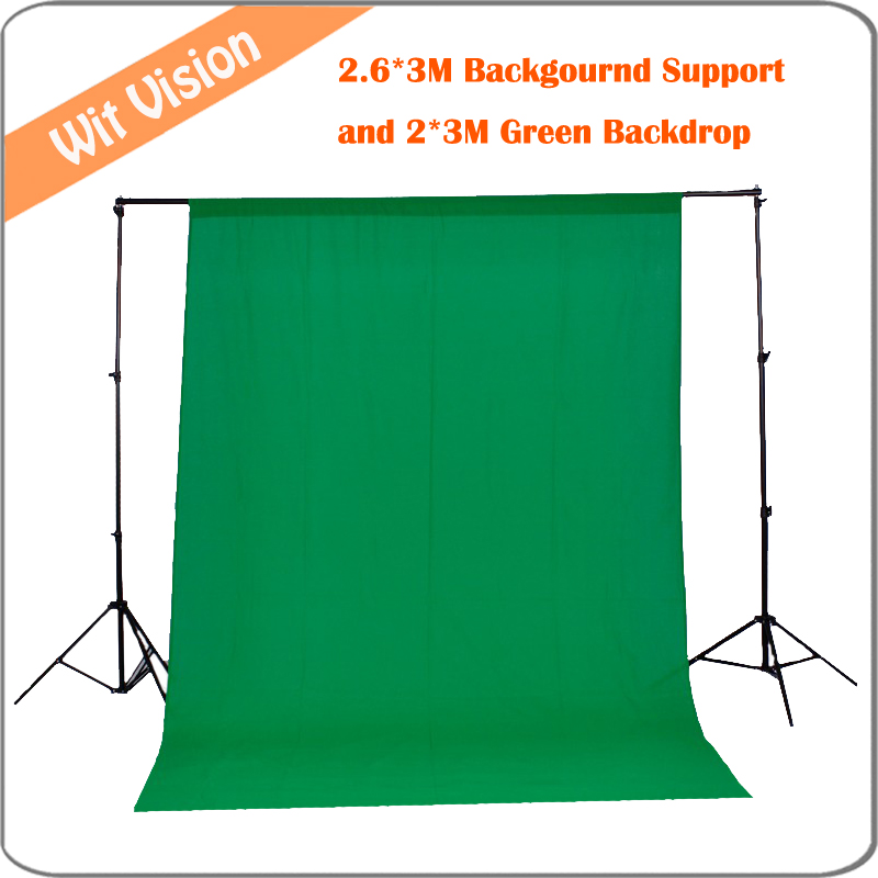 2 6m 3m 8 5ft 9 8ft Photo Background Backdrop Support Stand System Kit with 2m
