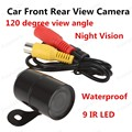new  Universal Waterproof Car Front Rear View Camera 120 Degree Wide Angle 420TVL Night Vision
