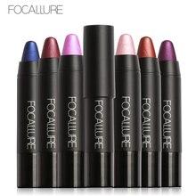 Focallure Glitter Metallic Lipstick Pen Long Lasting Waterproof 8 Colors Sexy Matte Lips Pencil Pigment Beauty Comestic Makeup