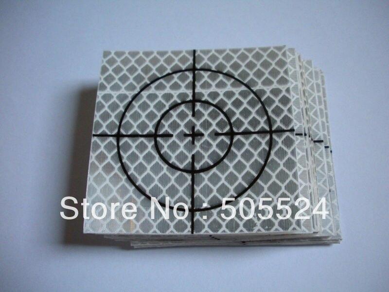 100 шт отражатель лист 60x60 мм Светоотражающая Целевая лента