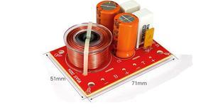 Image 3 - 2pcs 80w 2 way hi fi áudio agudos graves alto falante divisor de freqüência estéreo filtros crossover para 4 8ohm alto falante