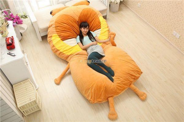 Fancytrader 220cm X 150cm Soft Giant Cute Garfield Cat Bed Carpet Tatami Mattess Sofa, FT50322 (6)