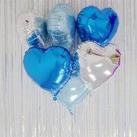 30 개/갑 인치 알루미늄 풍선 웨딩 & 약혼 아기 샤워 생일 파티 주년 발렌