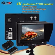 Viltrox DC-70PRO 7 Inch Field Monitor HD Camera Video 4K Monitor HDMI SDI AV Input 1920x1200 for Canon Nikon Pentax Sony DSLR цена 2017