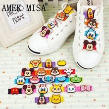 Cartoon Models PVC Shoe Decorations 20 Pcs a Set Casual/Sports Shoes Accessories Teens Childrens Shoelace Charm Ornament M418
