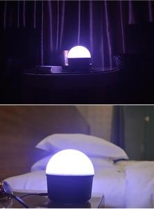 Image 5 - مشغل موسيقى صغير LED بضوء ليلي للديسكو وبلوتوث MP3 5 فولت لإضاءة المسرح والحفلات المنزلية تأثير لقاعة الرقص مصباح نوم الطفل