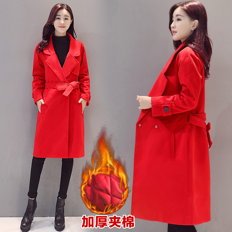 Popular Womens Coats Red-Buy Cheap Womens Coats Red lots from ...