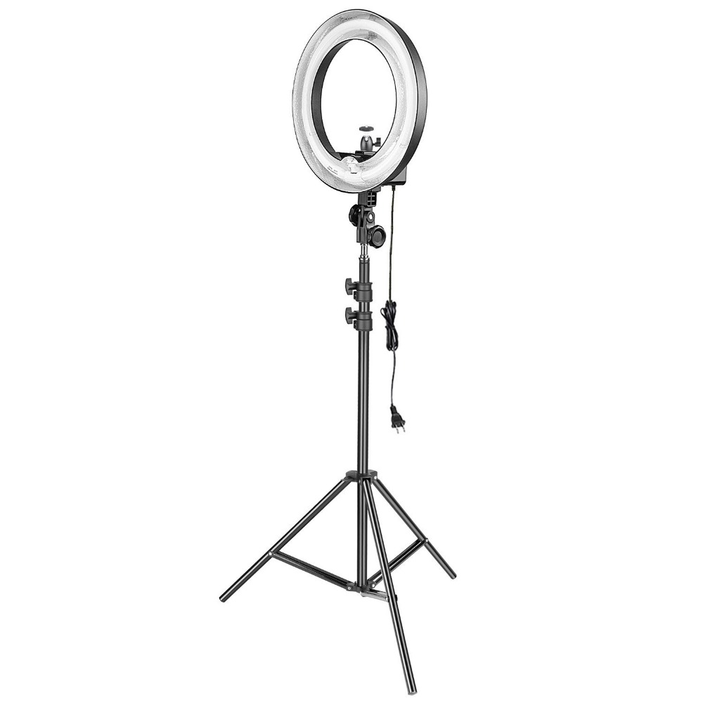 Ring Light Stand Ireland: Neewer 14 Inches Dimmable Fluorescent Ring Light With