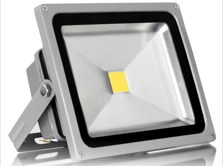 Ultrathin LED Flood Light 10W 20W 30W 50W AC110V 220V Waterproof IP66 Flood lights Spotlight Outdoor Lighting Floodlights