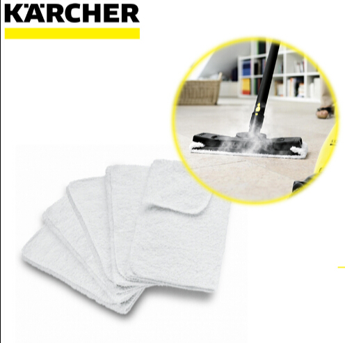5pcs/lot Karcher SC1025 2.500 4.100 5.800 Steam Cleaner Fiber Cloth Set 5pcs lot fiber reflector e39 r1 is brand in stock