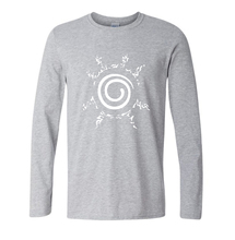 Eight Trigrams Sealing Style Long Sleeve Shirt