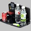 Grande Multifuncional Automóvil Mesa y Soporte Para Bebidas Estante Para Platos De Plástico Puede Ser Doblado Descuento Sostenedor de Taza Auto
