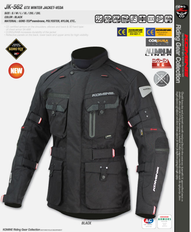 New motorcycle hunting jacket JK-562 GTX winter jacket VEDA