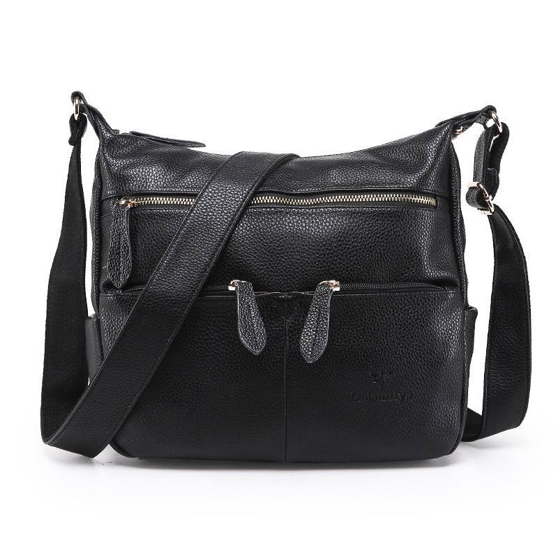 2017 Women s Handbags Fashion Women Crossbody Bags Vintage Casual Messenger Bags Female Bags Design Leather