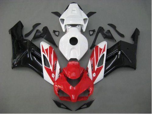 Abs Plastic Red Black White Fairing Kit Injection for 2004-2005 Honda CBR 1000 RR 1000RR CBR1000RR1000RRAbs Plastic Red Black White Fairing Kit Injection for 2004-2005 Honda CBR 1000 RR 1000RR CBR1000RR1000RR