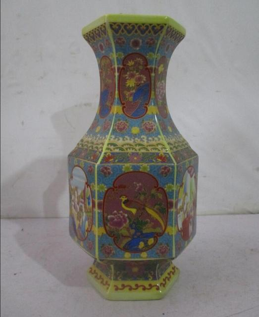 Rare Chinese Qing Dynasty Yong Zheng Ceramic Vasewith A Mark On
