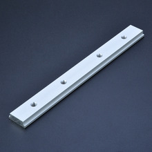 M6 200mm T Track Slot Slide Slab For T-slot T-track Miter Track Fixture Slot Router Table Woodworking Tools