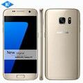 Новый Оригинальный Samsung Galaxy S7 Водонепроницаемый мобильный телефон 5.1 дюймов 4 ГБ RAM 32 ГБ ROM Quad Core NFC WIFI GPS 12MP 4 Г LTE смартфон
