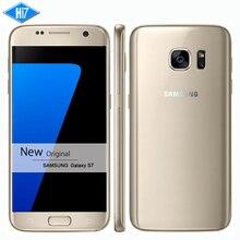 החדש המקורי samsung galaxy s7 טלפון סלולרי עמיד למים 5.1 inch 4 gb זיכרון RAM 32 GB ROM אוקטה Core NFC WIFI GPS 12MP 4 גרם LTE smartphone