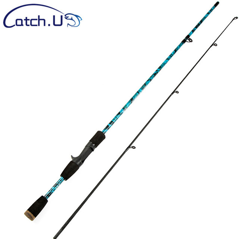 цена на 1.8M Blue/Red/Grey/Green Carbon Fiber Fishing Rod 1/8-3/4oz Lake Lure Casting Rod Hard Carbon Spinning Fishing Pole