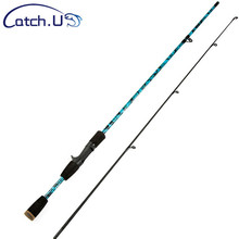 1.8M Blue/Pink/Gray/Inexperienced Carbon Fiber Fishing Rod 1/8-3/4oz Lake Lure Casting Rod Arduous Carbon Spinning Fishing Pole