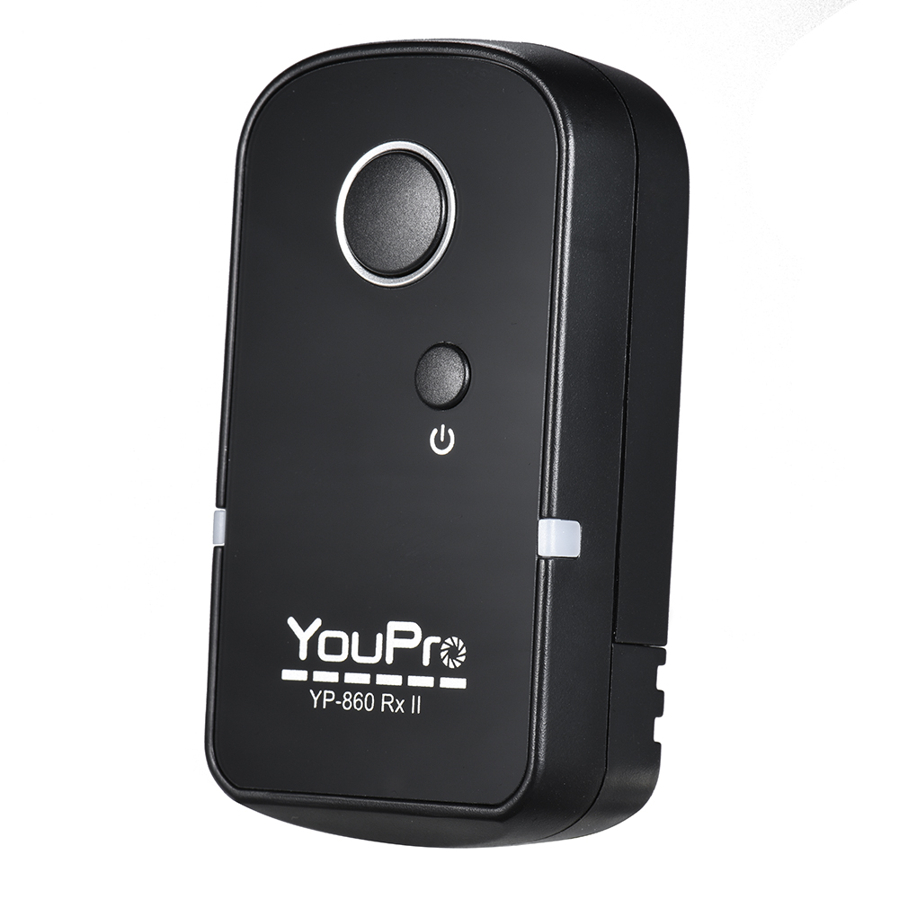 YouPro YP-860 DC2 2.4G Wireless Remote Control Shutter Release Transmitter Receiver 16 Channels for Nikon D500 D750 D7100 D7200 D7000 D600 D610 D5500 D3300 D3200 D3100 D5300 D5200 D5300 DSLR Camera