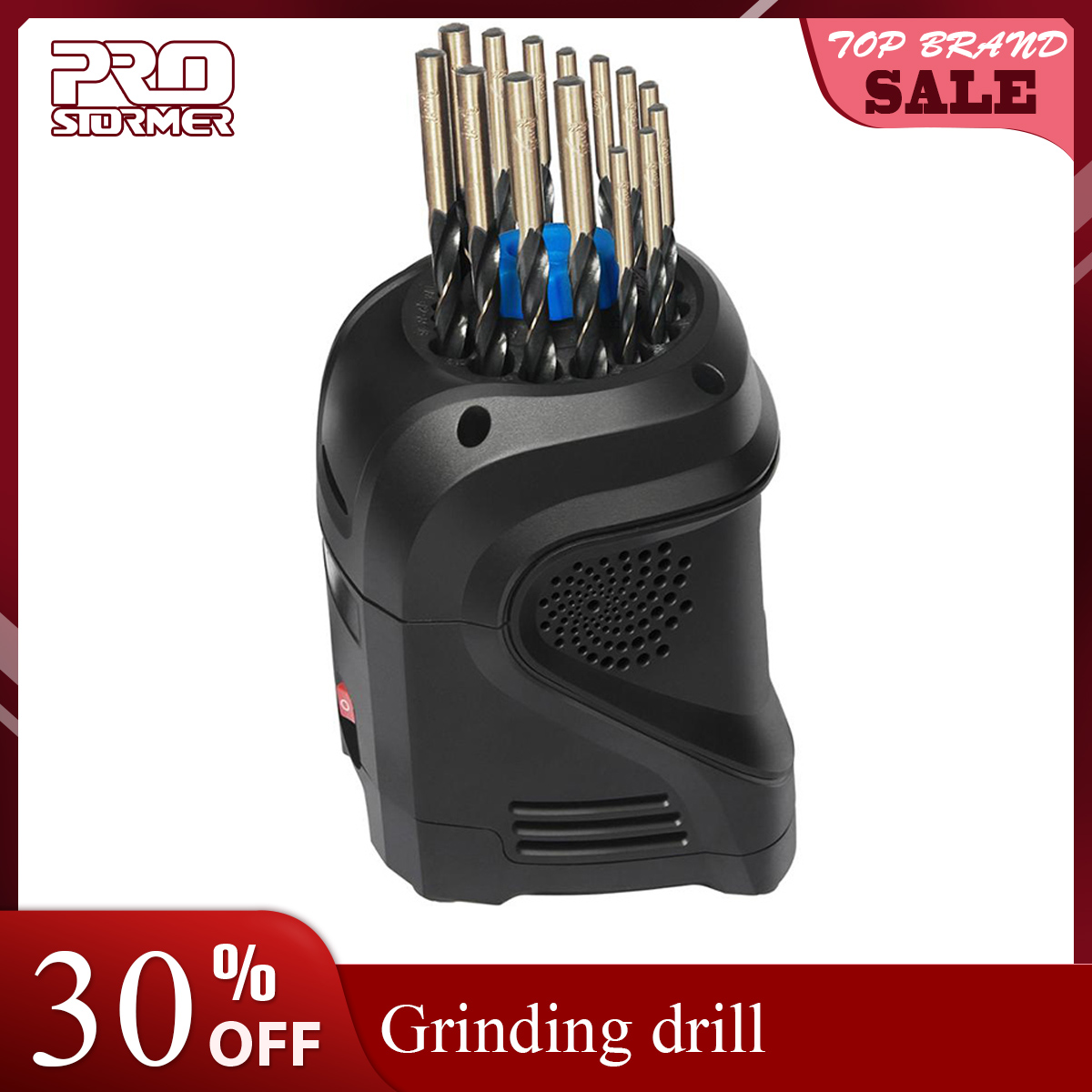 Prostormer 3 12mm Electricty Sharpening Drills 95W High Speed Drill Bit Grinder Sharpening Drills Household Grinding